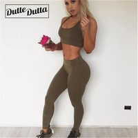 Sport Workout Clothes For Women Sports Suit Female Sporty Fitness Clothing Women's Gym Wear Sportswear Woman Leggings Yoga Set