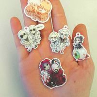 Tokyo ghoul Charms