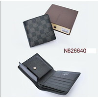LOUIS VUITTON FASHION MEN'S WALLET ZERO PURSE