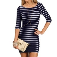 Navy Stripe Tunic