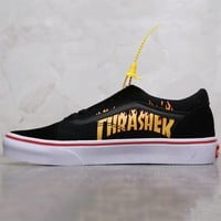 VANS & Thrasher joint low-top shoes, skateboard shoes, men's and women's shoes F-AHXF