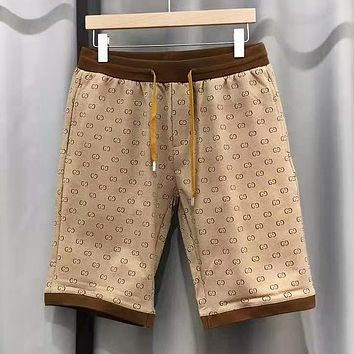 GUCCI New fashion more letter print couple shorts