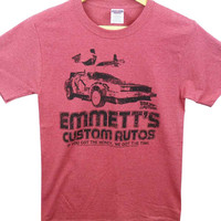 Back To The Future T-Shirt - Emmets Autos