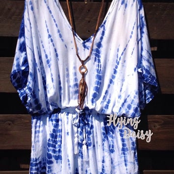 Tie Dye Cover-Up Tunic