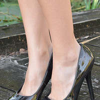Uncage My Heart Heels: Black