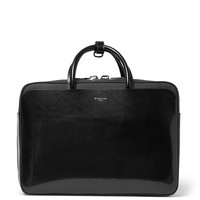 Givenchy - Rubber-Panelled Leather Briefcase | MR PORTER