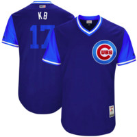 DCCK Chicago Cubs Jersey - Kris Bryant  KB  2017 Players Weekend