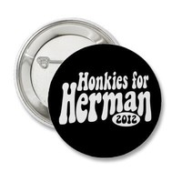 Herman Cain 2012 Buttons from Zazzle.com