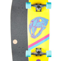 Quincy Woodwrights Saber Tooth Complete Skateboard Yellow One Size For Men 26858660001