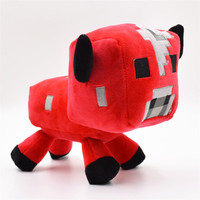 1PC Retail Mooshroom Minecraft Stuffed Animals Toys Creeper Squid Enderman Pig Sheep 7 Types 13-25CM Minecraft Game Plush Dolls for Choice