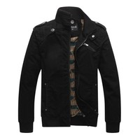 Hee Grand Mens Classic Winter Wind Jacket