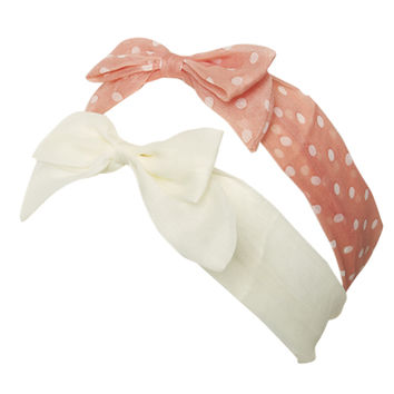 2 On Bow Headwrap   Shop Accessories at Wet Seal