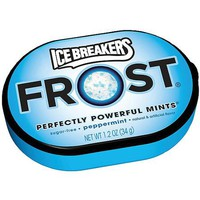 Ice Breakers Frost Peppermint Sugar-Free Mints, 1.2 oz - Walmart.com