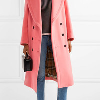 Burberry - Oversized double-breasted wool and cashmere-blend coat