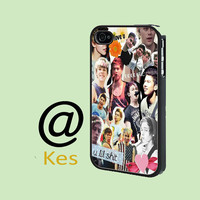 5 Second Of Summer 5SOS Collage - Print on hard cover for iPhone Case and Samsung Galaxy Case