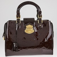 Louis Vuitton Amarante Monogram Vernis Melrose Avenue Bag
