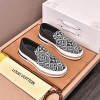 LOUIS VUITTON 2021Men Fashion Boots fashionable Casual leather Breathable Sneakers Running Shoes0517qh