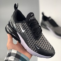 Nike Max 270 half palm cushion cushioning sports running shoes