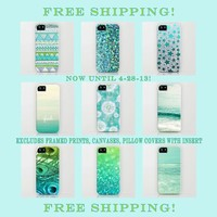 FREE SHIPPING WORLDWIDE! Ends 4-28-13 excludes framed prints, canvases, pillow covers with insert by Lisa Argyropoulos