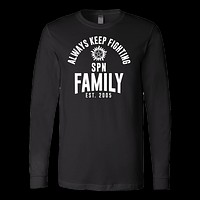 Family - Always keep fighting Spn Family Est 2005 - Men Long Sleeve T Shirt - TL00761LS