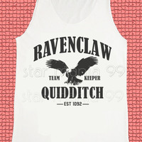 Ravenclaw Quidditch Shirt Ravenclaw Shirt Harry Potter Shirt Unisex Shirt Tank Top Women Tunic Singlet Sleeveless Women Shirt Size S,M,L