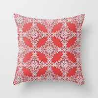 Ornate Scroll Throw Pillow by Dale Keys | Society6
