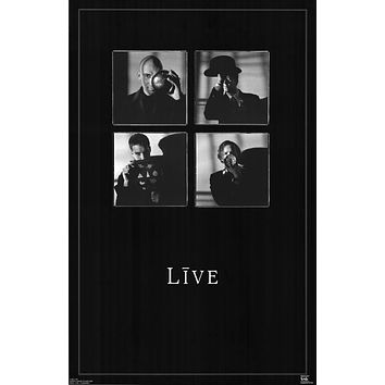 Poster: Live Ed Kowalczyk Band Poster 22x34