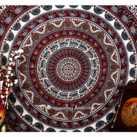 Classic Handlook Style Colorful Boho Tapestry Wall Hanging