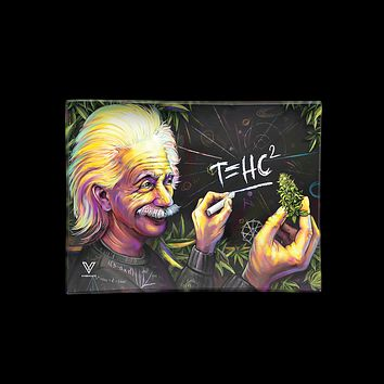 T=HC2 Einstein Higher Education Glass Tray
