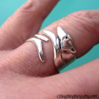 Greyhound dog ring, 925 Solid sterling silver ring jewelry, Adjustable, (Matte or Shine)