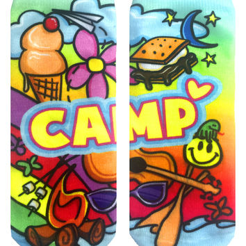 Camp Love Ankle Socks