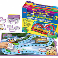 Operations & Algebraic Thinking Folder Game Library - Gr. 4-5 at Lakeshore Learning
