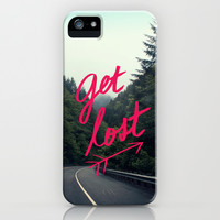 Get Lost iPhone & iPod Case by Leah Flores