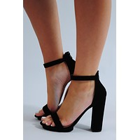 Showin Out Heels: Black