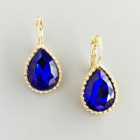 Royal Sapphire Earrings