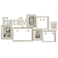 Family Collage Wall Frame - Ivory