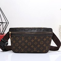 Perfect Louis Vuitton Women Shopping Leather Purse Waist Bag Single-Shoulder Bag Crossbody