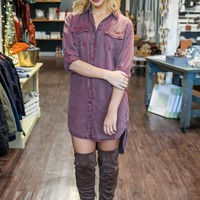 PIPER SHIRTDRESS