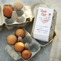 Egg Gifts Crates, Set of 6