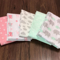 baby fitted sheet  100x76 cm Cartoon printing cotton flannel baby bed sheets Baby Bedding Set Infant Cot Sheets Boys Girls