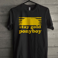 Stay Gold Ponyboy The Outsiders Movie Book