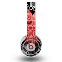 The Industrial Red Heart Skin for the Original Beats by Dre Wireless Headphones