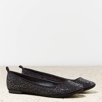 AEO Bejeweled Ballet Flat   American Eagle Outfitters