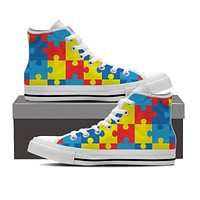 Autism Awareness Shoes-Clearance