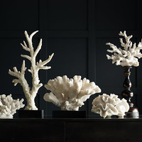 Large Branch Coral on Base