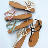 Double Ankle-strap Sandal