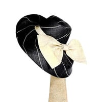 Wide Brim Hat w/ Big Bow OB/HAT/40C-04