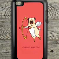 I Pug Love iPod 4 Touch Case