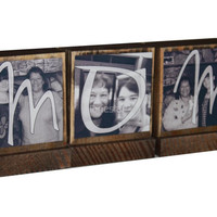 PERSONALIZED PHOTO GIFTS-Great Mothers Day Gifts for Mom-Personalized wooden photo blocks-Great Christmas Gifts