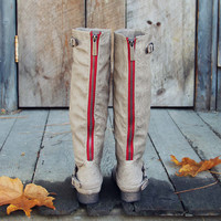 Smokestack Boots in Ash